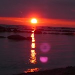 sunrise yoga at Memorial Park Meaford